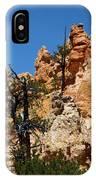 Bryce Canyon Santa Clause IPhone Case