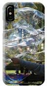 Bubble Blowr Of Central Park IPhone Case