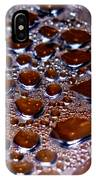 Bubbles Of Steam Cherry Wine Red IPhone Case