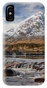 Buchaille Etive Mhor - Glencoe IPhone Case