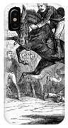 Bucking Mule, 1879 IPhone Case
