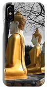 Buddha In The Jungle IPhone Case