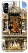 Buddha Shrine IPhone Case
