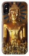 Buddhist Statue In Wat Phra Singh IPhone Case