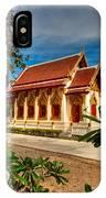 Buddhist Temple IPhone Case