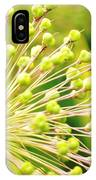 Budding Foliage IPhone Case