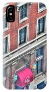 Buffalo Athletic Club Downtown Winter IPhone Case