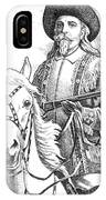 Buffalo-bill-cody IPhone Case