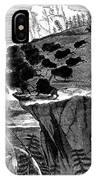 Buffalo Hunt, 1834 IPhone Case