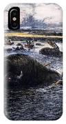Buffalo Hunt, 1874 IPhone Case