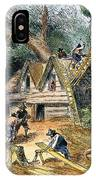 Building Houses, 17th C IPhone Case