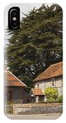 Building Houses Traditional Weybourne Norfolk IPhone Case