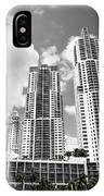 Buildings Downtown Miami IPhone Case