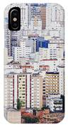 Buildings Of Downtown Sao Paulo IPhone Case