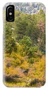 Bull Elk Lake Crusing With Autumn Colors IPhone Case