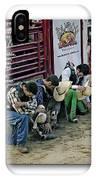 Bull Riders Prayer - With Prayer Text IPhone Case