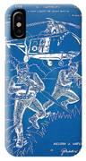 Bulletproof Patent Artwork 1968 Figure 15 IPhone Case