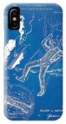 Bulletproof Patent Artwork 1968 Figures 16 To 17 IPhone Case