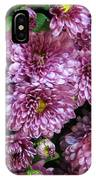 Bunch Of Chrysanths IPhone Case
