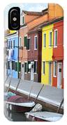 Burano Italy 2 IPhone Case