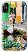 Burano Reflections IPhone Case