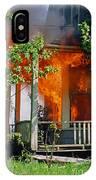 Burning House IPhone Case