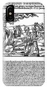 Burning Of Witches, 1555 IPhone Case