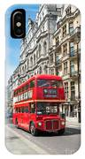 Bus On Piccadilly IPhone Case