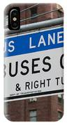 Buses Only I IPhone Case