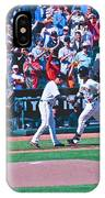 Buster Posey Runs Home IPhone Case