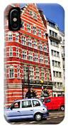 Busy Street Corner In London IPhone Case