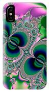 Butterflies On Parade Fractal 123 IPhone Case