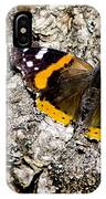 Butterfly Bark IPhone Case