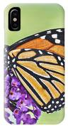Butterfly Beauty-monarch IPhone Case