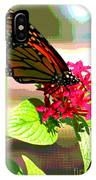 Butterfly Flowers IPhone Case