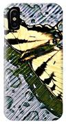 Butterfly In Rain IPhone Case