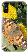 Butterfly In The Sun IPhone Case
