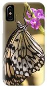 Butterfly On A Stem IPhone Case