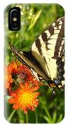 Butterfly On Orange Flowers IPhone Case