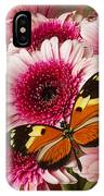 Butterfly On Pink Mum IPhone Case