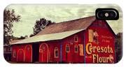 Buy Flour. #barn #pa #pennsylvania IPhone Case