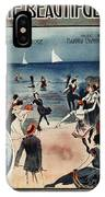 By The Beautiful Sea, 1914 IPhone Case