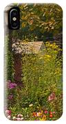 By The Light Of The Garden IPhone Case