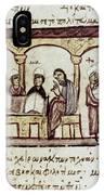 Byzantine Philosophy School IPhone Case