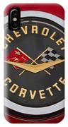 C1 Corvette Emblem IPhone Case