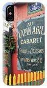Cabaret Sign IPhone Case