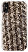 Cactus 19 Sepia IPhone Case