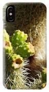 Cactus Buds IPhone Case