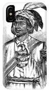 Caddo Chief, 1879 IPhone Case