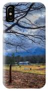Cades Cove Lane IPhone Case